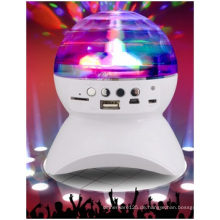 Wireless Bluetooth LED Audio, bunte Lichter Lautsprecher, Mini Audio
