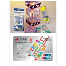 Печать четкая Тайвань столовые жесткой пластиковой пленки ПВХ
