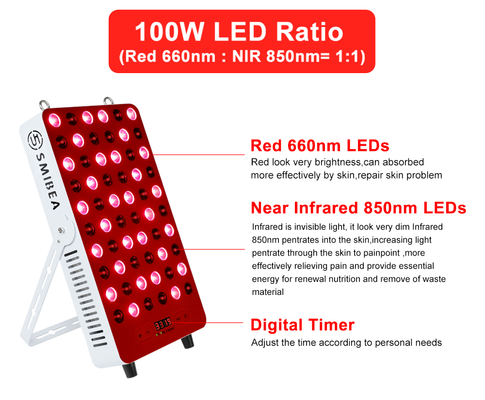 2021 Best Red And Infrared Therapy Lamp