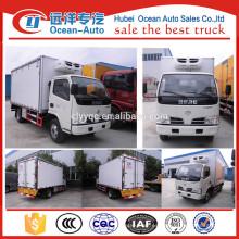 Helado transporte camión frigorífico / frigorífico precio camión furgón
