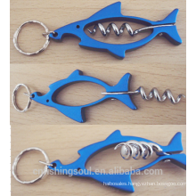FSOB003_2 Metal Bottle opener Fishing Equipment Gift for Fisherman Fish Bottle Opener