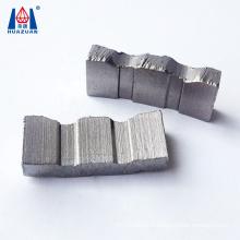 China Straight Groove Shape  Diamond Core Drill Bit Segment
