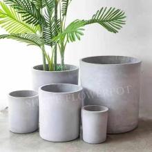 Vaso de flores de cimento com varanda grande estilo europeu com varanda