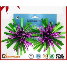 Christmas Decoration Colorful Ribbon Fancy Bow