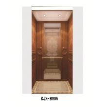 Вилла с деревянным и шампанским золотым штейном из нержавеющей стали (KJX-BS05)