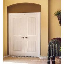 porta dupla branca preparada HDF com pele de porta de 3mm HDF