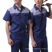 Uniforme de travail de coton de vêtements de travail d'hommes d'OEM