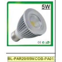 Spot LED 5W Dimmable / Non-Dimmable PAR20 COB
