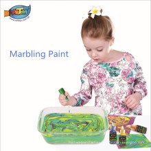 Hot sales factory direct easy to clean and suitable for children Ebru marbling paint