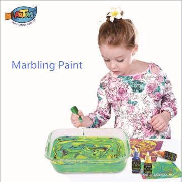 Fábrica directa de las ventas directas fácil de limpiar y conveniente para los niños Ebru marbling paint