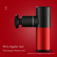 mini pistola de massagem terapêutica portátil elétrica sem fio