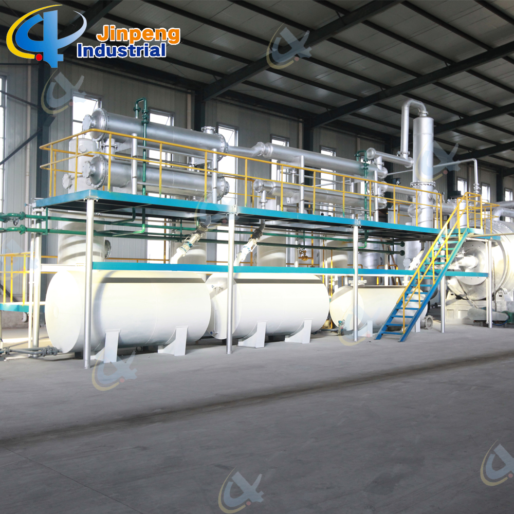waste plastic oil extraction machine
