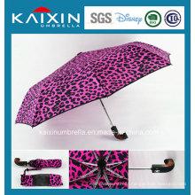 Customized Pattern Auto Open and Close Folding Umbrella