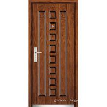 Внутренняя стальная деревянная дверь (WX-SW-106)