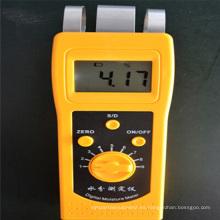 Medidor de humedad del equipo de prueba Dm200t para el medidor de humedad del hilo textil