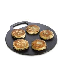 Japanese Teppanyaki Griddle Cast Iron Pizza Bread Scones Baking Stone