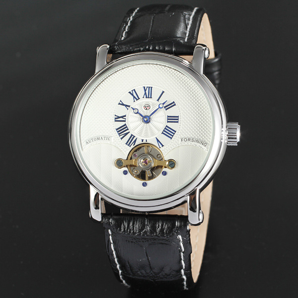 Whosale OEM / ODM montre automatique en cuir