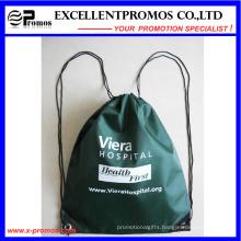 Cheap Custom Logo Printed Polyester Drawstring Backpack (EP-B6192)