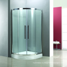 двойная раздвижная дверь ванной душевая кабина