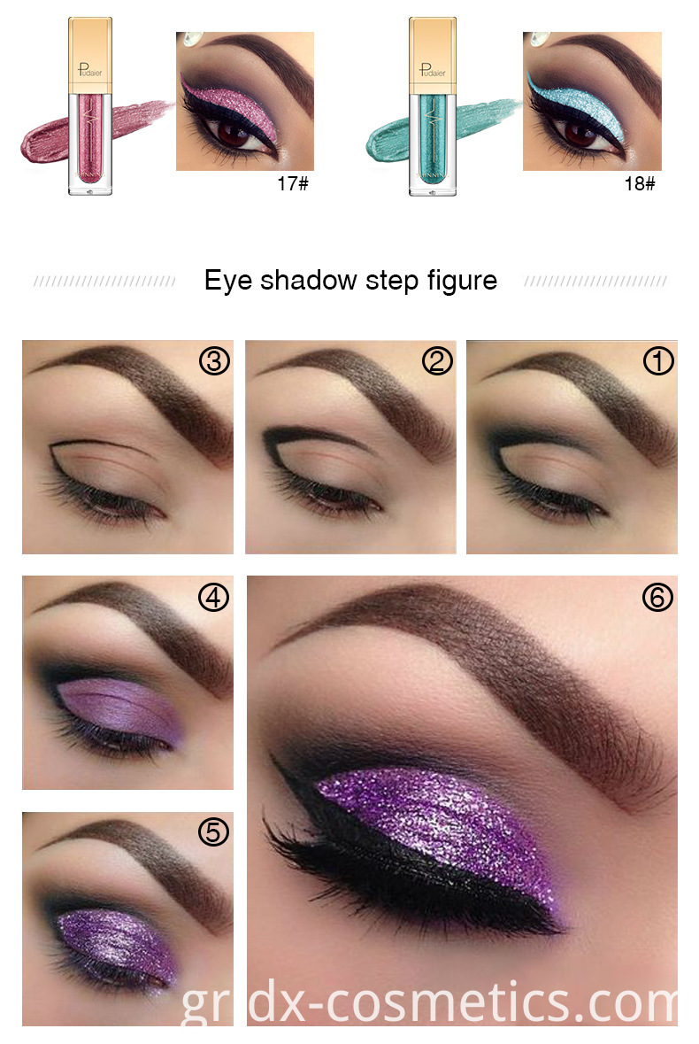 Shing star Liquid Eye Shadow 4