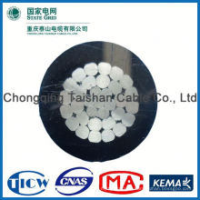 Professional Factory Supply!! High Purity aerial bundle cable (abc cable) drop service