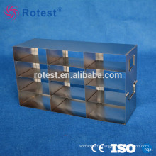 stainless steel cryogenic storage rack used in laboratory freezer/medical freezer