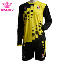 Customized long sleeve soccer jersey