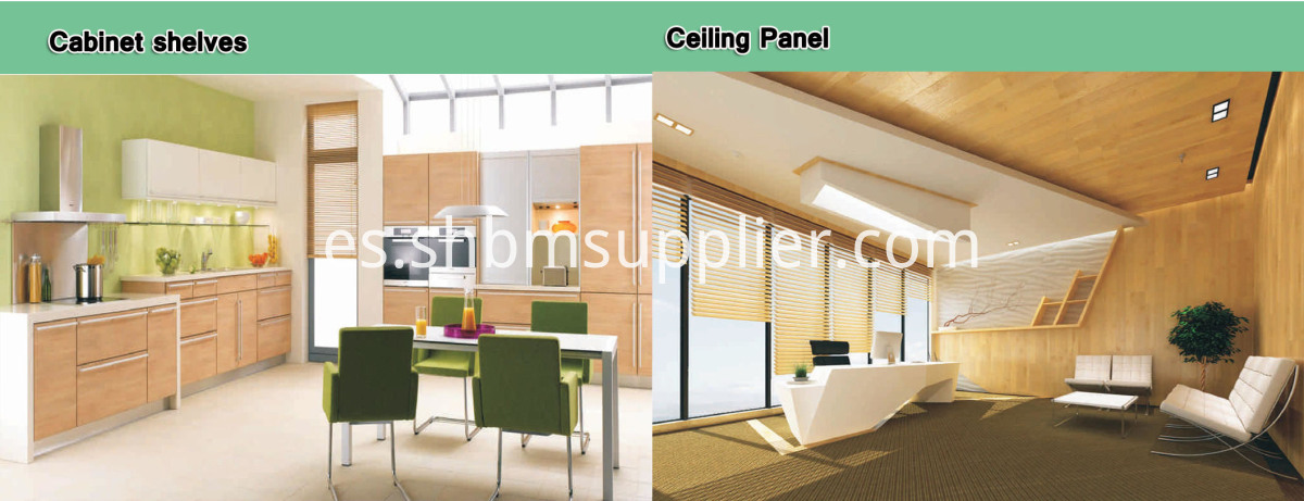 Grain Partition Wall Board