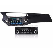 Bonne qualité! Qcta-core android 6.0 lecteur DVD de voiture pour Citroen C3 2013 / DS3, GPS / Glonass, BT, SWC, OBD2 pris en charge