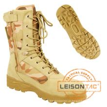 Tactical Botas feitas de pele de couro de couro cheio