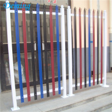 PVC-belagd High Security Steel Palisade Fäktning