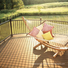 Smooth co-extruded ultrashield decking wpc deck floor