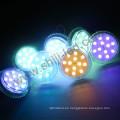 Alta calidad Rgb DC12 / 24V 50mm 12pcs Leds luz de píxel digital direccionable para el parque de atracciones