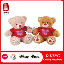 Lovely felpa de peluche oso de peluche de juguete para los niños