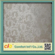 Chinese Embossing Design PVC Leather Vinyl Fabric for Upholstery Use