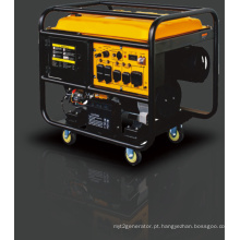 10kVA Tipo aberto Gasolina / gerador de gasolina com partida elétrica.