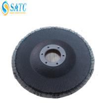 "Logotipo feito sob encomenda 6 ""disco abrasivo da aleta da fibra de vidro do óxido de alumínio refinado com certificado ISO9001"