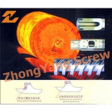 Barril de fundición centrífugo de barril de tornillo bimetálico