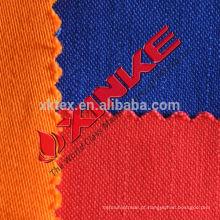 Tecido 100% algodão retardador de chama e anti-estática para o total