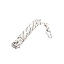 Corda de escalada esticada ao ar livre da corda de escalada 12mm, venda por atacado.