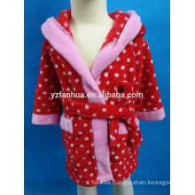 Marketing Popular Lovely Hooded Style Girls' Bathrobe