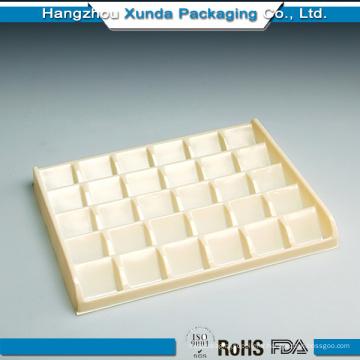 Plateau en chocolat en plastique Ventes entières