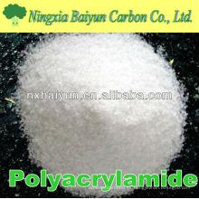 Poliacrilamida catiónica CPAM para el tratamiento del agua