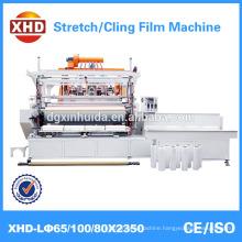 Stretch film cling film application machine