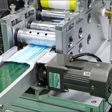 Electrical system automatic face mask making machine