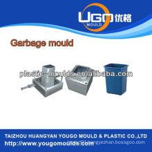 Industry platic garbage bin mold Injection platic trash can bin household platic mold