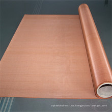 Tela de protección electromagnética tela de cobre puro de 75 micrones