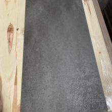Pisos de pedra SPC de cimento cinza escuro polido