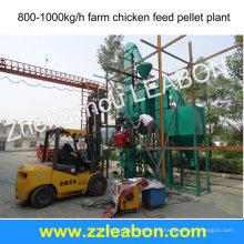 Planta de pellet de alimentación animal 1t / h