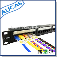 New producs cat5e 24 port krone patch panel made in China